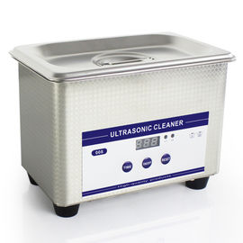 0.8L Heated Ultrasonic Eyeglass Cleaner Stainless Steel Dental Ultrasonic Cleaner
