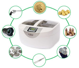 JP-4820 Household Ultrasonic Cleaner for brass , 40KHz 2.5 Liter Ultrasonic Cleaner heating function