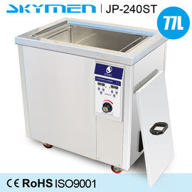 Wax In Wafer Ultrasonic Cleaning Machine 77 Liter With 3000W Heating Power