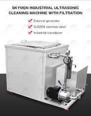 28KHz 5400W 540L Filter Ultrsonic Cleaning Machine For Electronics